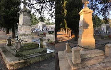 L'entretien de monuments funéraires