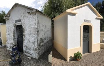 La rénovation de monuments funéraires